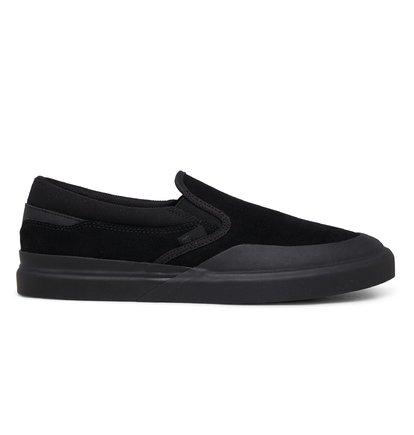 Men's DC Infinite Leather Slip-On Shoes