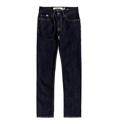 Worker Indigo Rinse - Slim Fit Jeans  EDBDP03055