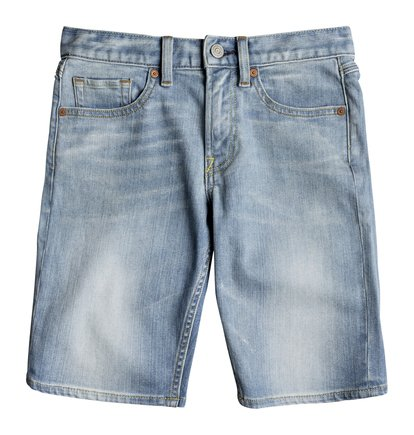 Worker Light Indigo Blue - Denim Shorts for Boys 8-16  EDBDS03014
