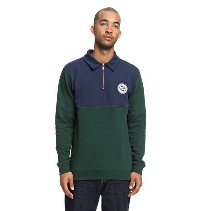 Dellwood - Half-Zip Polo Neck Sweatshirt for Men  EDYFT03387