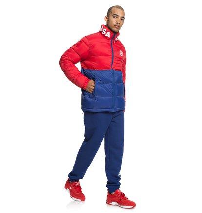 Hombre DC Shoes Top Block Zip Fleece