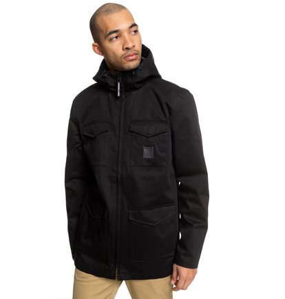 Mastaford - Water-Resistant Hooded Field Jacket  EDYJK03196