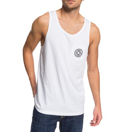 L DC Shoes Pocket Hombre Camiseta sin Mangas