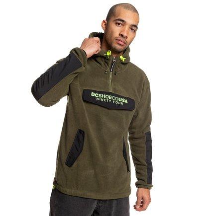 806e362a8efc5 Tagans - Sweat à capuche demi-zip en polaire pour Homme EDYPF03041 ...