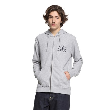 Durable Timer - Zip-Up Hoodie for Men  EDYSF03155