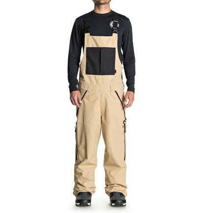 DC Shoes - Shell Snow Bib Pants for Men  EDYTP03030