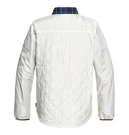 DC Mens Network Water Resistant Reversible Flannel Shirt Jacket