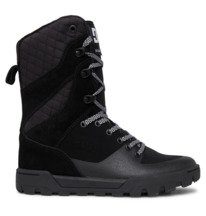 Nadene High Leg Leather Lace-up Boots for Women  ADJB700004