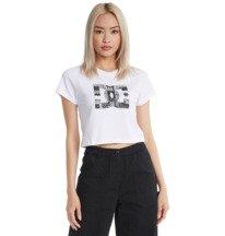 Bandana Fill Star - Cropped T-Shirt for Women  ADJZT03037