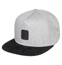 1SZ Medium Grey Heather DC Mens SNAPDRIPP Trucker HAT
