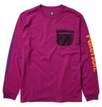 Paterson X DC Tech - Long Sleeve T-Shirt for Men  ADYKT03165