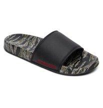 DC SE - Leather Slides Sandals for Men  ADYL100044