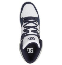 DC Cure - High-Top Leather Skate Shoes for Men  ADYS400072