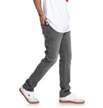 a3db2ea78b Worker Medium Grey - Straight Fit Jeans for Men EDYDP03375