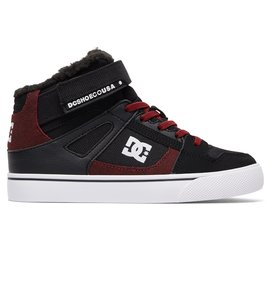 Pure High WNT EV - Winterized Elastic-Laced High-Top Shoes for Boys  ADBS300274