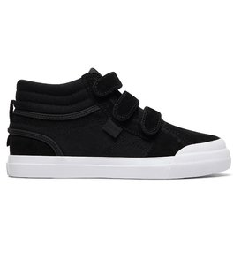 Evan Hi V - Leather High-Top Shoes for Kids  ADBS300339