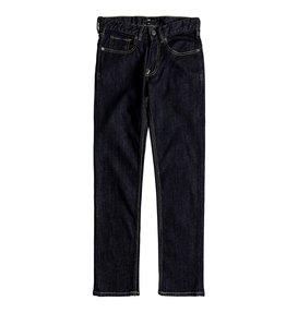 Worker Indigo Rinse - Slim Fit Jeans for Boys 8-16  EDBDP03036