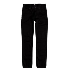 Worker Black Rinse - Slim Fit Jeans for Boys 8-16  EDBDP03041