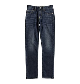Worker Medium Stone - Slim Fit Jeans for Boys 8-16  EDBDP03047