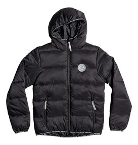 Crewkerne Boy - Water-Resistant Hooded Puffer Jacket  EDBJK03038