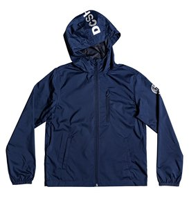 Dagup - Water-Resistant Hooded Windbreaker  EDBJK03045