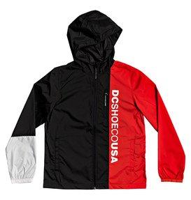 Dagup Triple Block - Water-Resistant Hooded Windbreaker for Boys 8-16  EDBJK03051