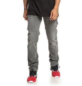 Worker Black - Straight Fit Jeans for Men  EDYDP03395