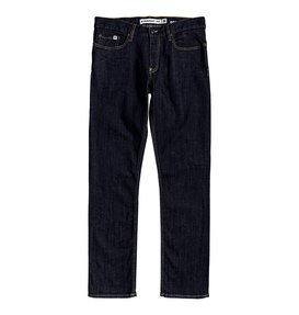 Worker Indigo Rinse - Straight Fit Jeans  EDYDP03400