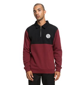 Dellwood - Half-Zip Polo Neck Sweatshirt for Men  EDYFT03387