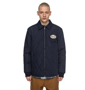 Mossburn - Quilted Coach Jacket for Men  EDYJK03129