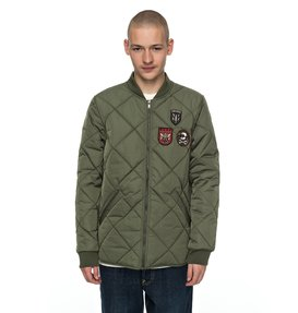 Hedgehope - Quilted Bomber Jacket for Men  EDYJK03137