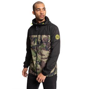 Dagup - Water-Resistant Hooded Windbreaker  EDYJK03205