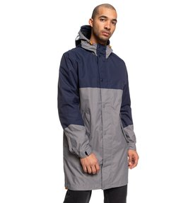 Nukove - Packable Waterproof Longline Fishtail Parka  EDYJK03214