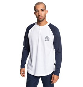 Basic - Long Sleeve Henley Top  EDYKT03414