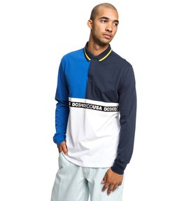 Walkley - Long Sleeve Polo Shirt for Men  EDYKT03450