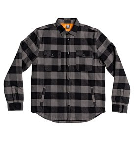 Landfilled - Long Sleeve Overshirt for Men  EDYWT03233