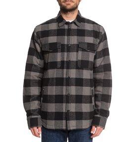 Landfilled - Long Sleeve Overshirt for Men  EDYWT03233