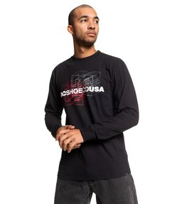 Double Dimension - Long Sleeve T-Shirt  EDYZT04060