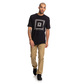 4 Worker Straight Fit Jeans Brown EDYNP03136 DC Shoes