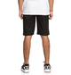 """5 Worker 22"""" Chino Shorts Black EDYWS03121 DC Shoes"""