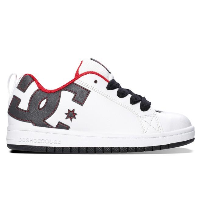 0 Boy's 4-7 Court Graffik Shoes  300504A DC Shoes