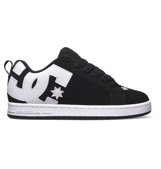 0 Zapatos Graffik Court Graffik Negro 300529 DC Shoes