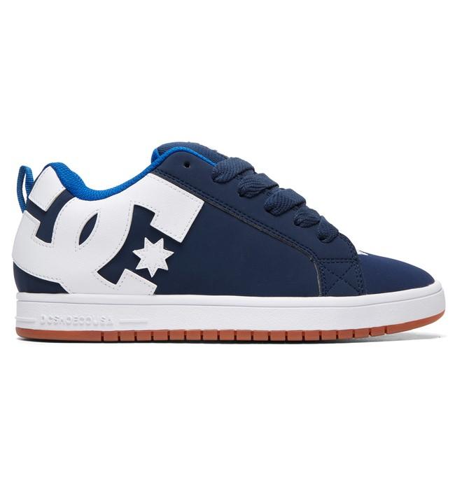 0 Court Graffik Shoes Blue 300529 DC Shoes