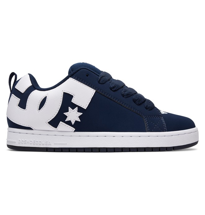 0 Court Graffik Shoes Blue 300529 DC Shoes