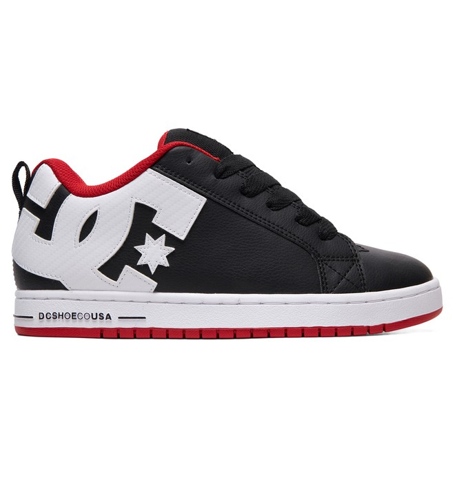 0 Court Graffik Shoes Red 300529 DC Shoes