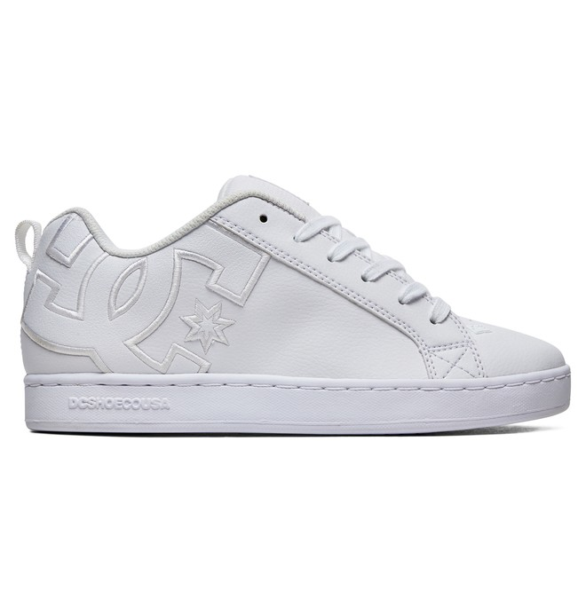 0 Court Graffik Shoes White 300678 DC Shoes