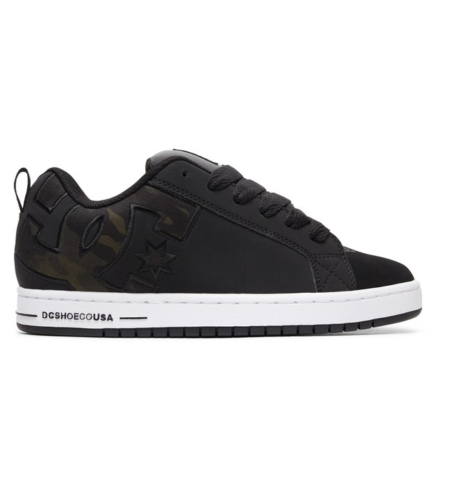 0 Court Graffik SE Shoes Black 300927 DC Shoes