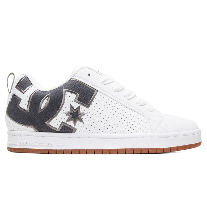 0 Zapatos SE Court Graffik Blanco 300927 DC Shoes