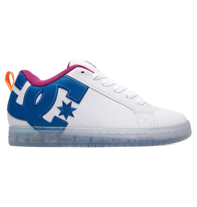 0 Court Graffik SE Shoes White 300927 DC Shoes