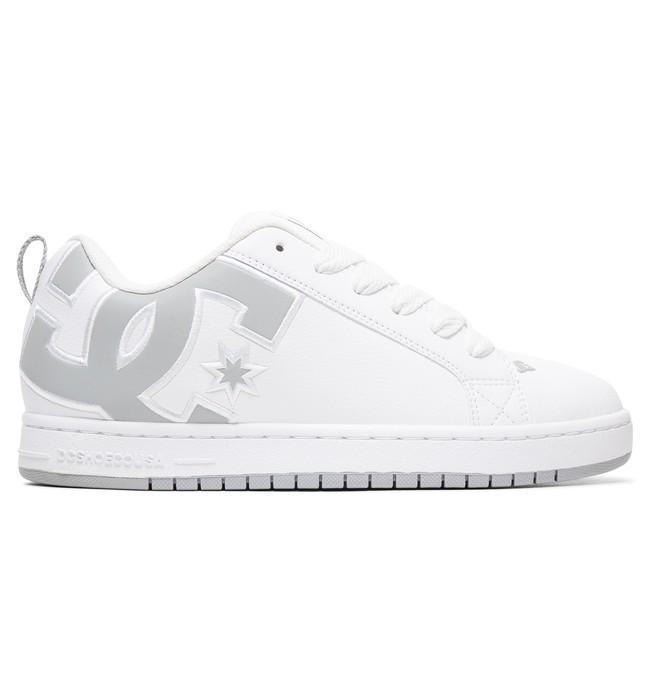 0 Court Graffik SE Shoes White 300927 DC Shoes